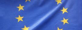EU Flag. Brett - The Referendum Gang