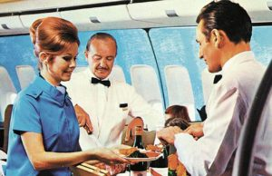 on board airline sales charade